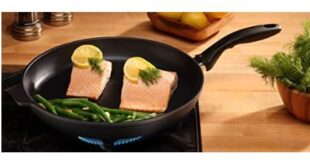 non stick frying pan copper image