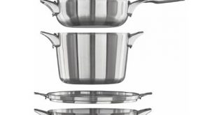 all clad stainless steel cookware set image