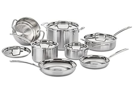 best stainless steel cookware image