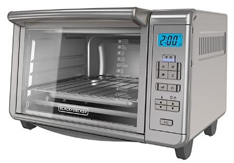 black and decker toaster oven natural convection image