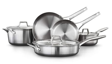 calphalon stainless steel cookware image
