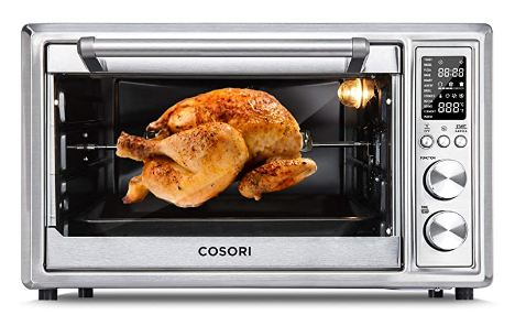 chicken in toaster oven image