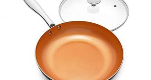 non stick frying pan induction image