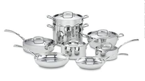 safety of stainless steel cookware image