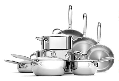 stainless steel cookware all clad image