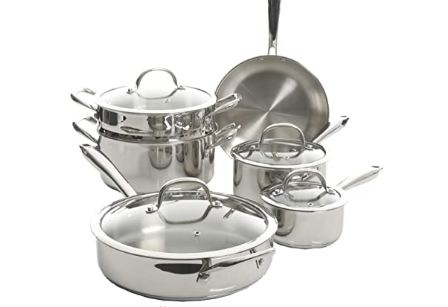 stainless steel cookware nonstick image