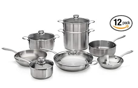 stainless steel cookware safe image