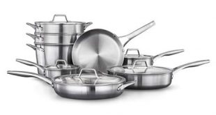 stainless steel cookware with non stick image