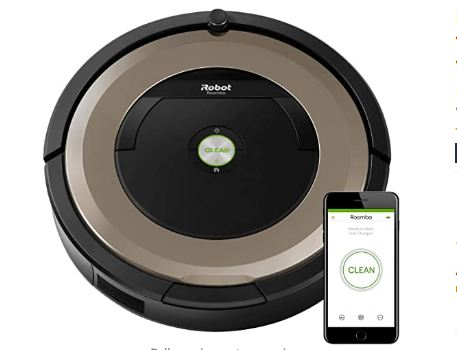 robot vacuum cleaner hardwood floors image
