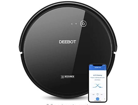 robot vacuum cleaner that mops image