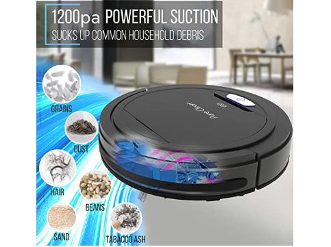 robot vacuum cleaner with mop image