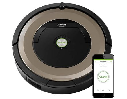 robot vacuum with mapping image