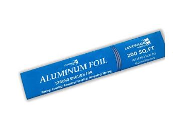 can you microwave aluminum foil image